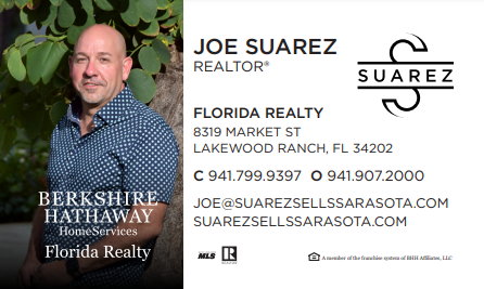 Joe Suarez Business Card