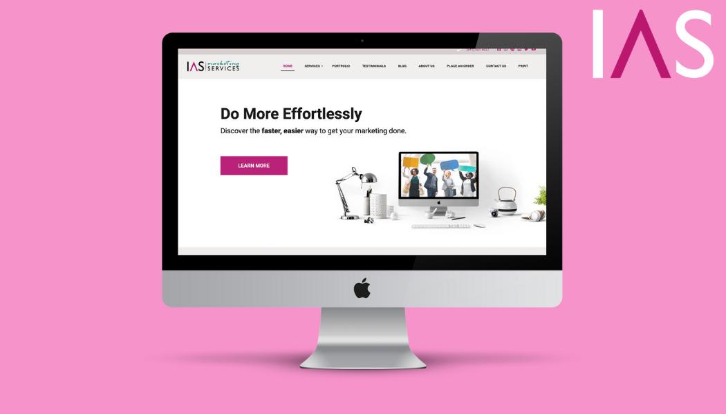 IAS Marketing Services website
